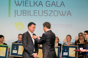 28.11.2016 Warszawa PKiN Teatr VIp. Gala Jubileuszu KOPD I RPD fot. Piotr Molęcki